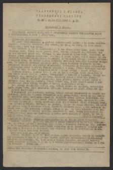 Wiadomości z Miasta i Wiadomości Radiowe. 1944, nr 24 (14 sierpnia)