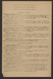 Wiadomości z Miasta i Wiadomości Radiowe. 1944, nr 33 (18 sierpnia)