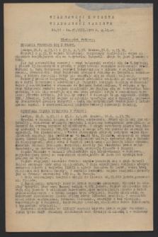 Wiadomości z Miasta i Wiadomości Radiowe. 1944, nr 50 (27 sierpnia)