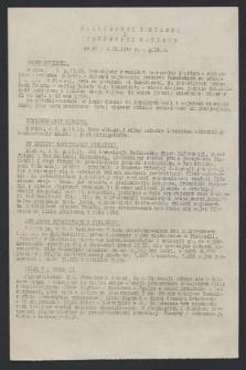 Wiadomości z Miasta i Wiadomości Radiowe. 1944, nr 67 (4 września)