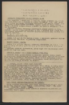 Wiadomości z Miasta i Wiadomości Radiowe. 1944, nr 71 (6 września)