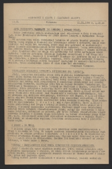 Wiadomości z Miasta i Wiadomości Radiowe. 1944, nr 81 (11 września)