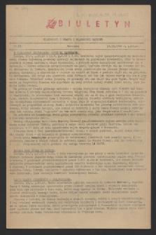 Wiadomości z Miasta i Wiadomości Radiowe. 1944, nr 84 (13 września)