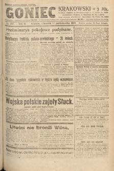 Goniec Krakowski. 1920, nr282