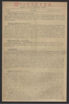 Wiadomości z Miasta i Wiadomości Radiowe. 1944, nr 107 (24 września)
