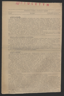 Wiadomości z Miasta i Wiadomości Radiowe. 1944, nr 108 (25 września)