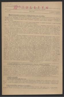 Wiadomości z Miasta i Wiadomości Radiowe. 1944, nr 119 (1 października)