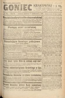 Goniec Krakowski. 1920, nr285