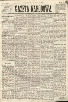 Gazeta Narodowa. 1872, nr107