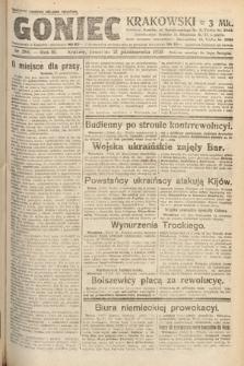 Goniec Krakowski. 1920, nr288