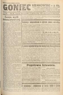 Goniec Krakowski. 1920, nr292