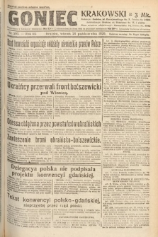 Goniec Krakowski. 1920, nr293