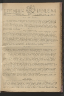 Dziennik Polski. R.4, nr 497 (25 marca 1943)