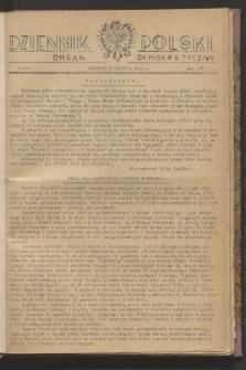 Dziennik Polski : organ demokratyczny. R.4, nr 503 (8 kwietnia 1943)