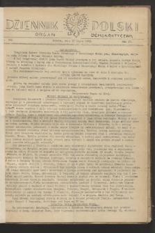 Dziennik Polski : organ demokratyczny. R.4, nr 546 (17 lipca 1943)