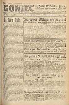 Goniec Krakowski. 1920, nr302