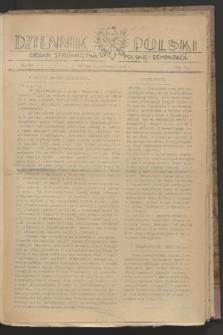 Dziennik Polski : organ Stronnictwa Polskiej Demokracji. R.4, nr 590 (2 listopada 1943)