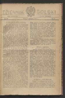 Dziennik Polski : organ Stronnictwa Polskiej Demokracji. R.5, nr 743 (30 września 1944)