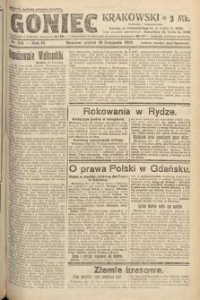 Goniec Krakowski. 1920, nr316