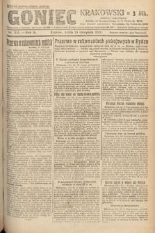 Goniec Krakowski. 1920, nr321