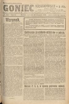 Goniec Krakowski. 1920, nr322