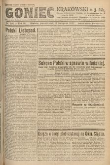 Goniec Krakowski. 1920, nr326