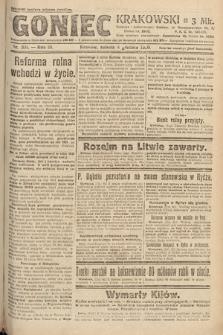 Goniec Krakowski. 1920, nr331