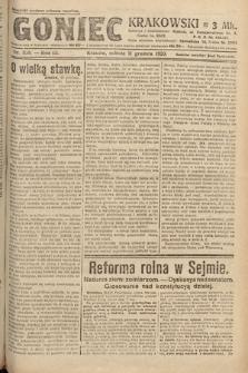 Goniec Krakowski. 1920, nr338