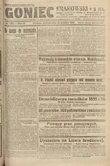 Goniec Krakowski. 1920, nr340