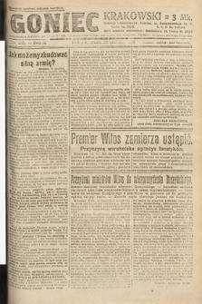 Goniec Krakowski. 1920, nr349