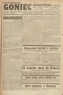 Goniec Krakowski. 1920, nr356