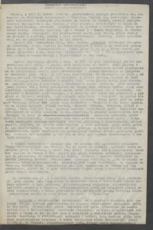 Komunikat Informacyjny OK RMP - WRN. 1943 ([1 marca])