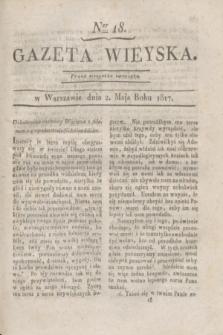 Gazeta Wieyska. 1817, Ner 18 (2 maja)