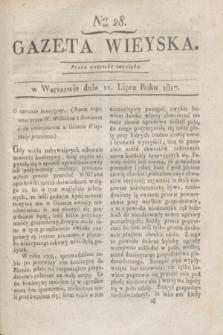 Gazeta Wieyska. 1817, Ner 28 (11 lipca)