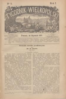 Tygodnik Wielkopolski. R.1, nr 3 (14 stycznia 1871)
