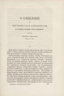 Ekonomista : pismo poświęcone ekonomice, statystyce i administracji. R.5 [!], [z. 10/11/12] (październik/listopad/grudzień 1870)