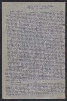 Dziennik Radiowy. 1943 (12 i 13 IX)