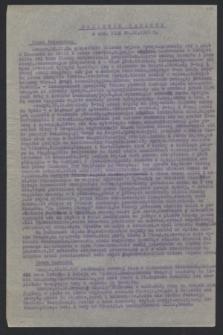 Dziennik Radiowy. 1943 (19 i 20 IX)