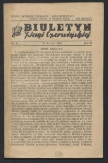 Biuletyn Ziemi Czerwińskiej. R.3, nr 31 (1943)