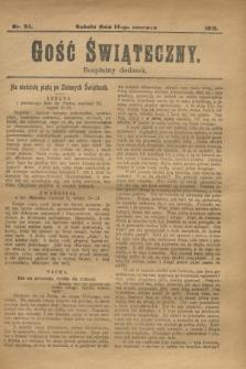 Gość Świąteczny : bezpłatny dodatek. 1913, nr 24 (14 czerwca)