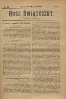 Gość Świąteczny : bezpłatny dodatek. 1913, nr 38 (20 września)