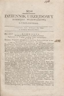 Dziennik Urzędowy Kommissyi Wojewodztwa Lubelskiego. 1817, Nro 28 (23 lipca) + dod.