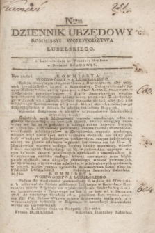 Dziennik Urzędowy Kommissyi Wojewodztwa Lubelskiego. 1817, Nro 35 (10 września) + dod.