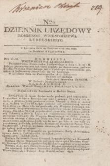Dziennik Urzędowy Kommissyi Wojewodztwa Lubelskiego. 1817, Nro 42 (29 października)