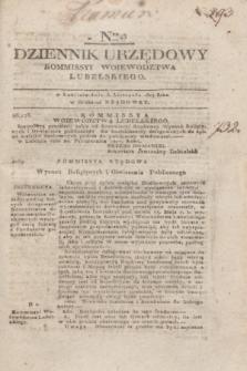 Dziennik Urzędowy Kommissyi Wojewodztwa Lubelskiego. 1817, Nro 43 (5 listopada)
