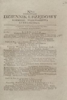 Dziennik Urzędowy Kommissyi Wojewodztwa Lubelskiego. 1817, Nro 45 (19 listopada) + dod.