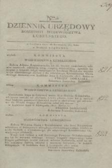 Dziennik Urzędowy Kommissyi Wojewodztwa Lubelskiego. 1817, Nro 46 (26 listopada)
