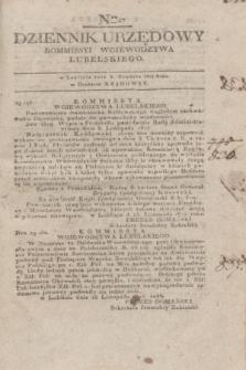 Dziennik Urzędowy Kommissyi Wojewodztwa Lubelskiego. 1817, Nro 47 (3 grudnia) + dod.