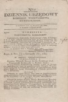 Dziennik Urzędowy Kommissyi Wojewodztwa Lubelskiego. 1817, Nro 48 (10 grudnia)