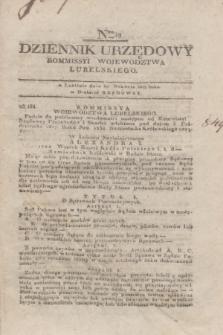 Dziennik Urzędowy Kommissyi Wojewodztwa Lubelskiego. 1817, Nro 49 (17 grudnia) + dod.